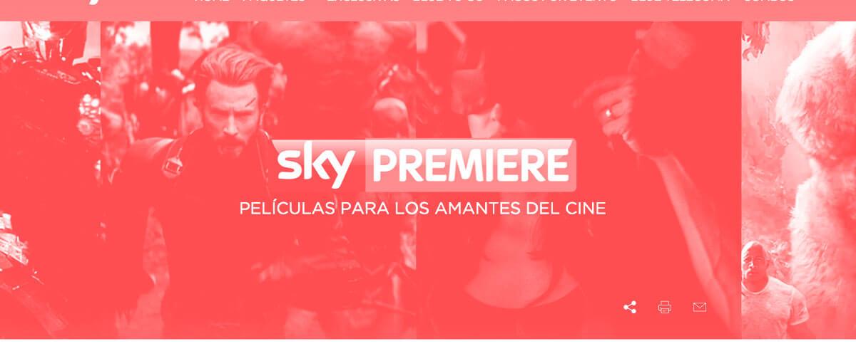Servicio Sky Premiere | Mayo 2021